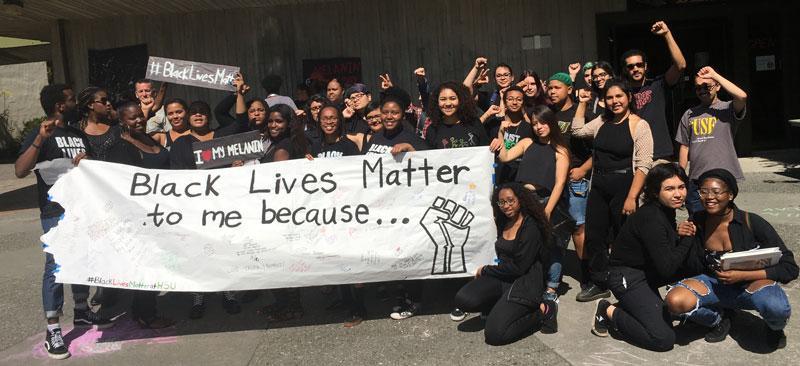 HSU Black Lives Matter
